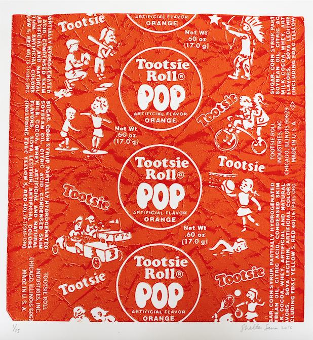 Tootsie Pop - orange variation