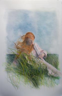 Jana In The Field