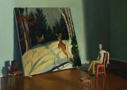 Painter in his Studio