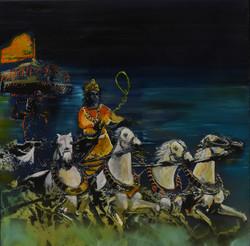 Krishna, Chariots of Fire