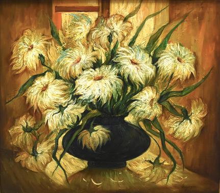 Still Life, Yellow Flowers