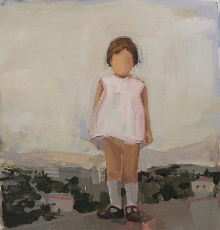 Gedion Rubin, Girl in white