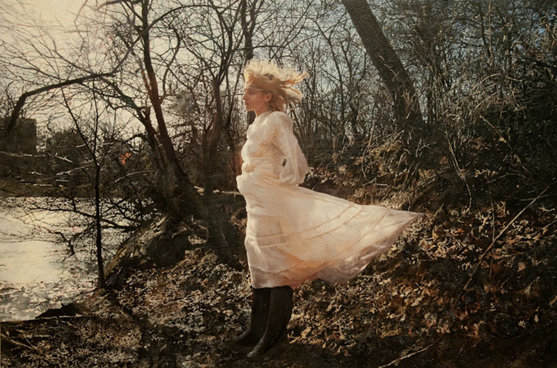 Untitled, Olga in the park