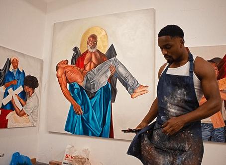 Meet Tyler Ballon: The Local Artist Tackling Race in America