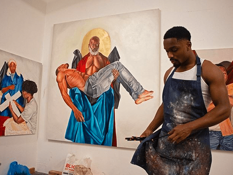 Meet Tyler Ballon: The Local Artist Tackling Race in America