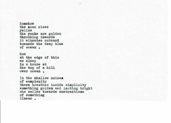 Binoche Poem