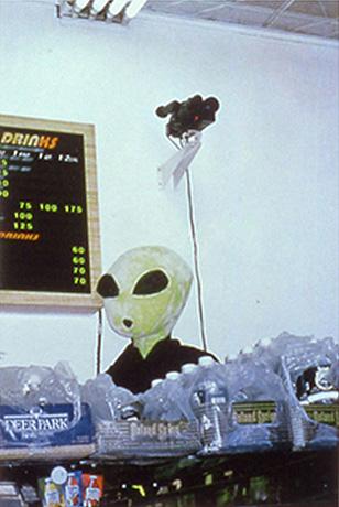Surveillance Alien Houston St. Deli