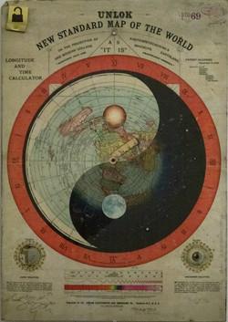 Unlok New Standard Map of the World