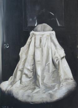 Contess Looking at Mirror