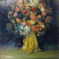 Study of Life Portrait as Bouquet