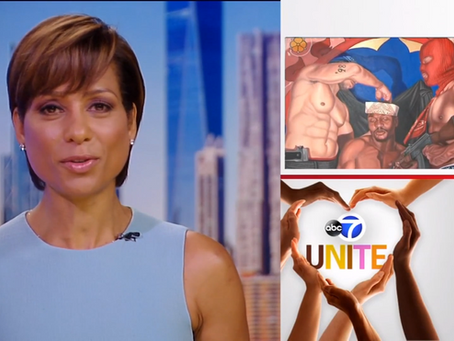 ABC7 Unite: Artist paints Biblical scenes featuring African-Americans