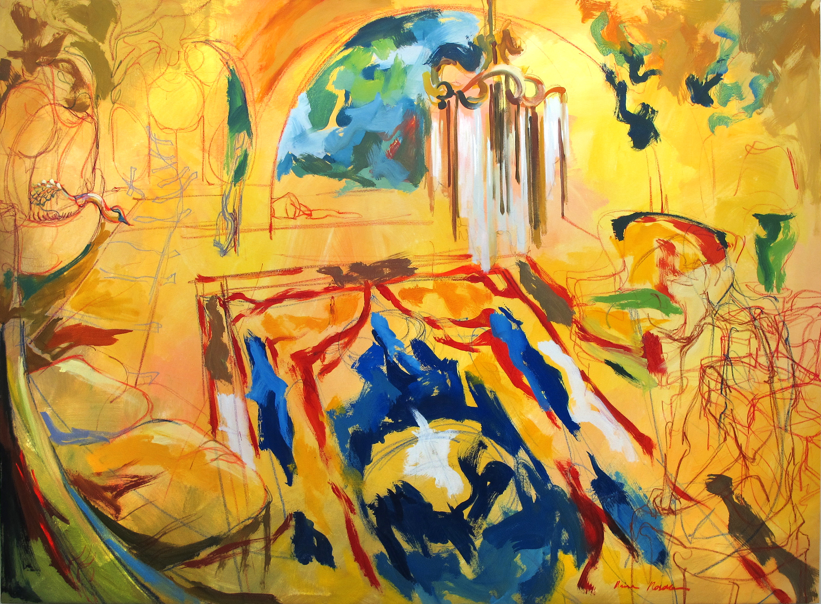 Displacement Orangerie