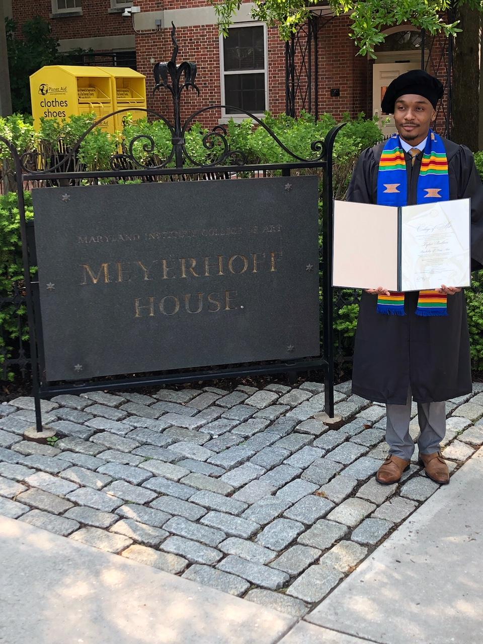 Tyler Ballon Graduates from MICA!