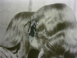 Two Kissing Heads