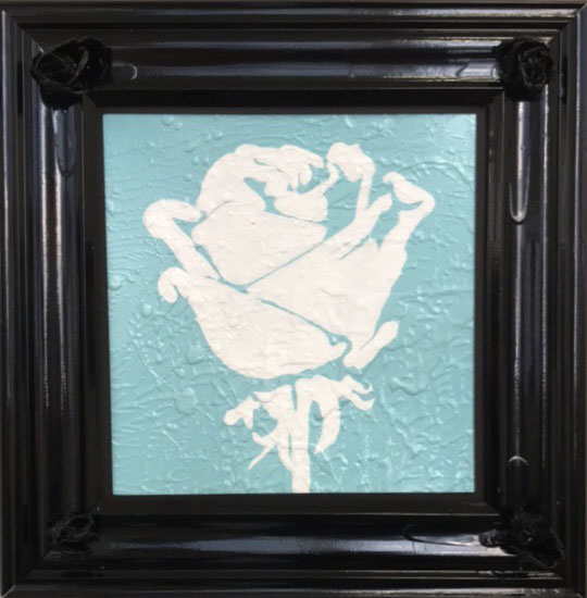 Rose Composition (Blue)