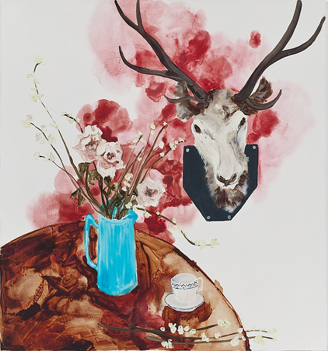 Still Life with Stag