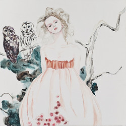 Athena with Spotted Owls