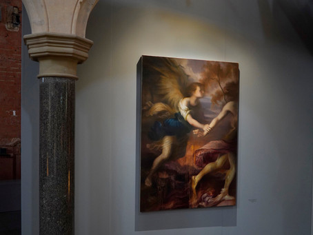 """Maria Kreyn """"Polyphony"""" with Heist Gallery at Welsh Chapel"""