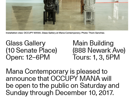 Mana Contemporary | Weekend Hours
