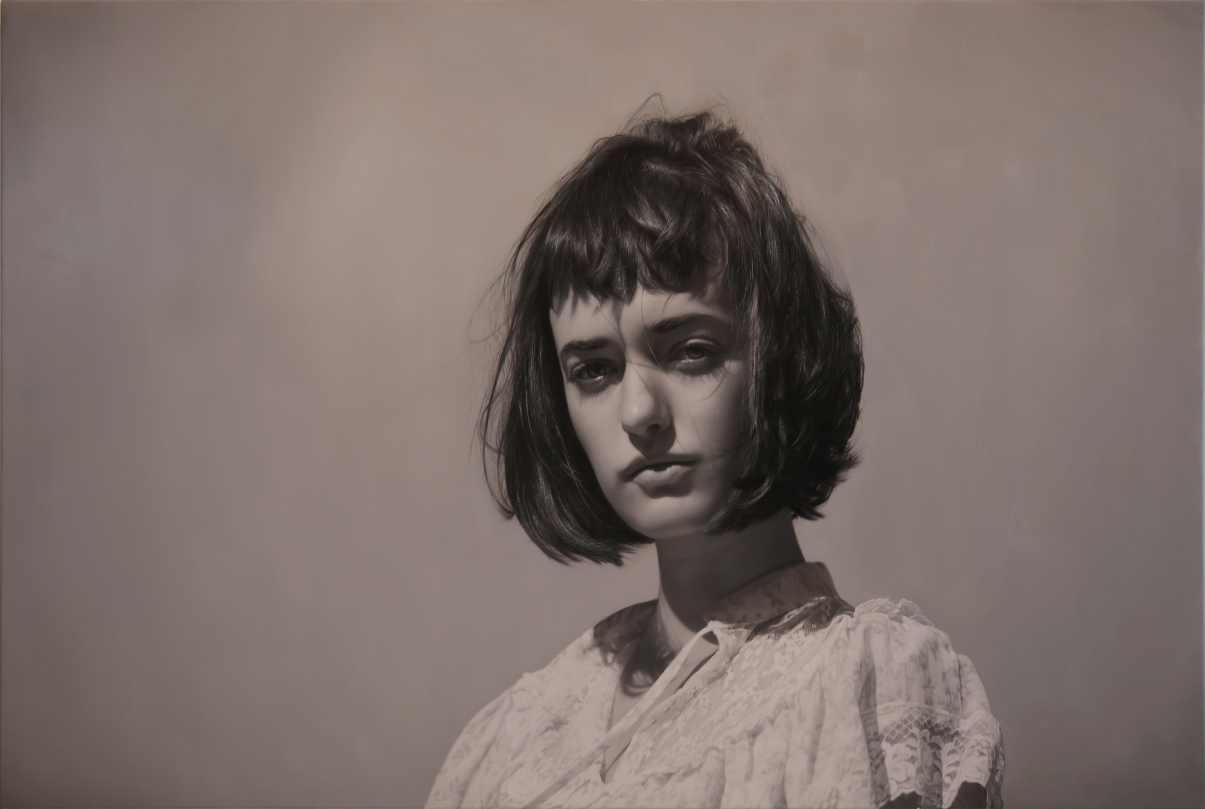 Yigal Ozeri, Untitled; Olya Monochrome