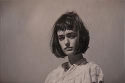Yigal Ozeri, Untitled; Olya Monochrome