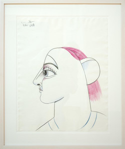 Profile with Pink Hair