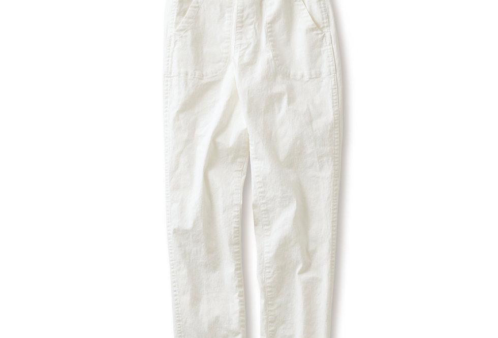 מכנסי צ׳ינו - לבן