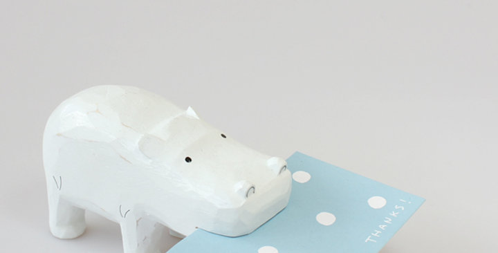 Hippopotamus Card holder