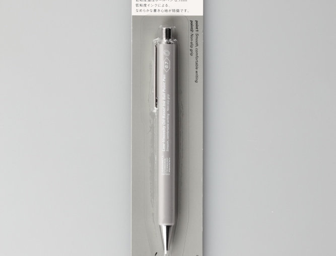 Low-Viscosity Oil-Based Ink Ball Point Pen