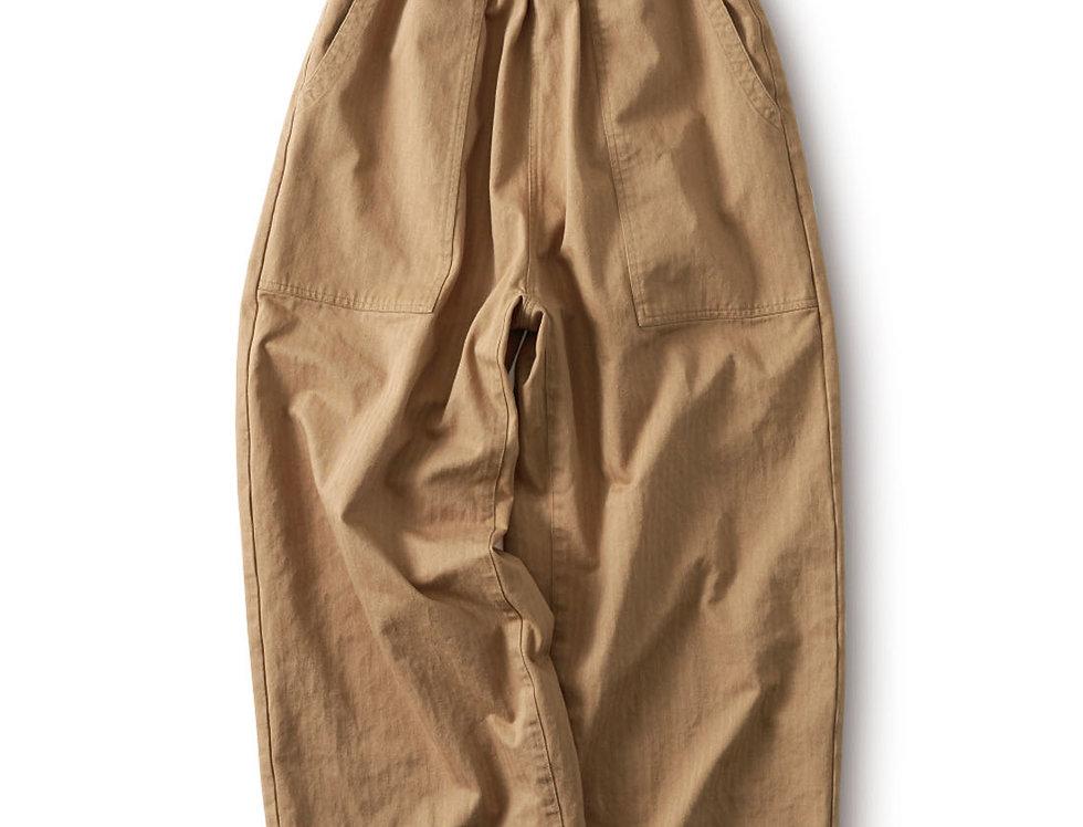 מכנסי אדרה רחבים  בז׳