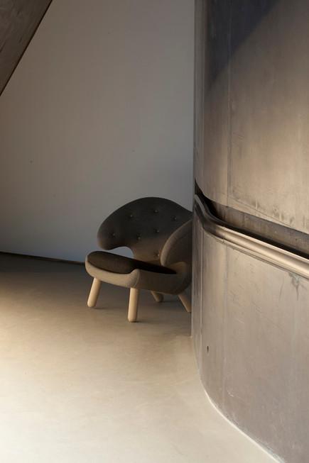 Pelican Chair Grey Fabric Ordrupgaard 20