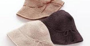 כובע ארוג מנייר אורז