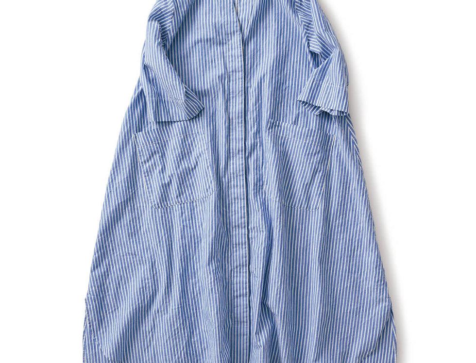 שמלת אוברסייז פסים
