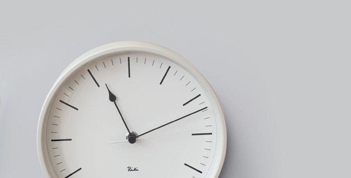 Riki steel clock