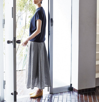 חצאית ג'ינגהם