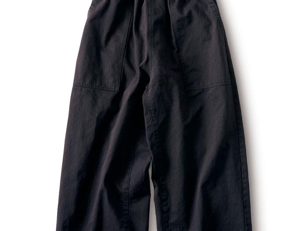 מכנסי אדרה רחבים שחור