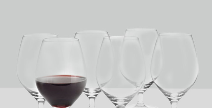 Arne Jacobsen סט 6 כוסות יין