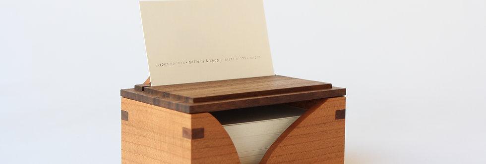 SWC קופסא לכרטיסי ביקור