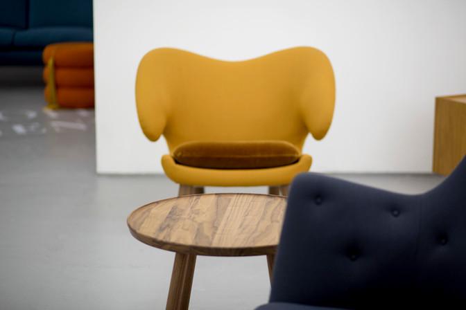 Pelican Chair, yellow, fabric, Pelican T