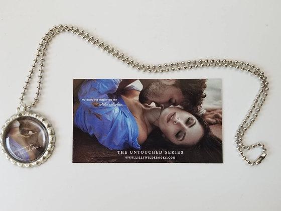 The Untouched Series Bottle Cap Necklace - Magnet Combo