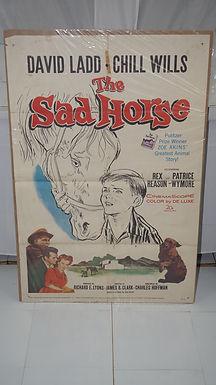 1959 Movie Poster - The Sad Horse