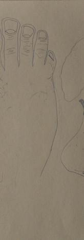 Grafite su carta spolvero 21 x 29 cm