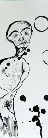 Inchiostro di china su carta 20 x 30 cm