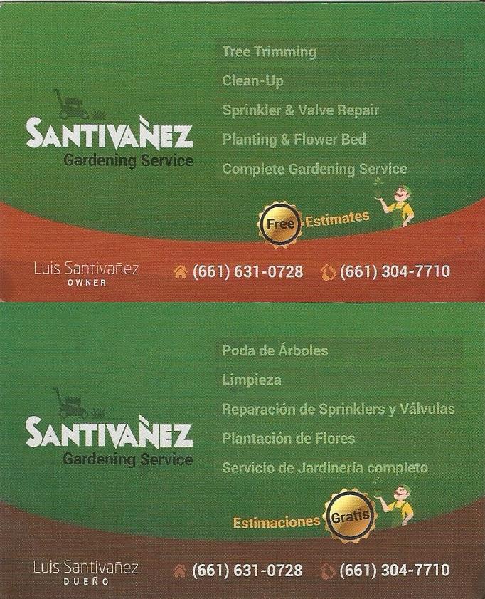 Santivanez Gardening