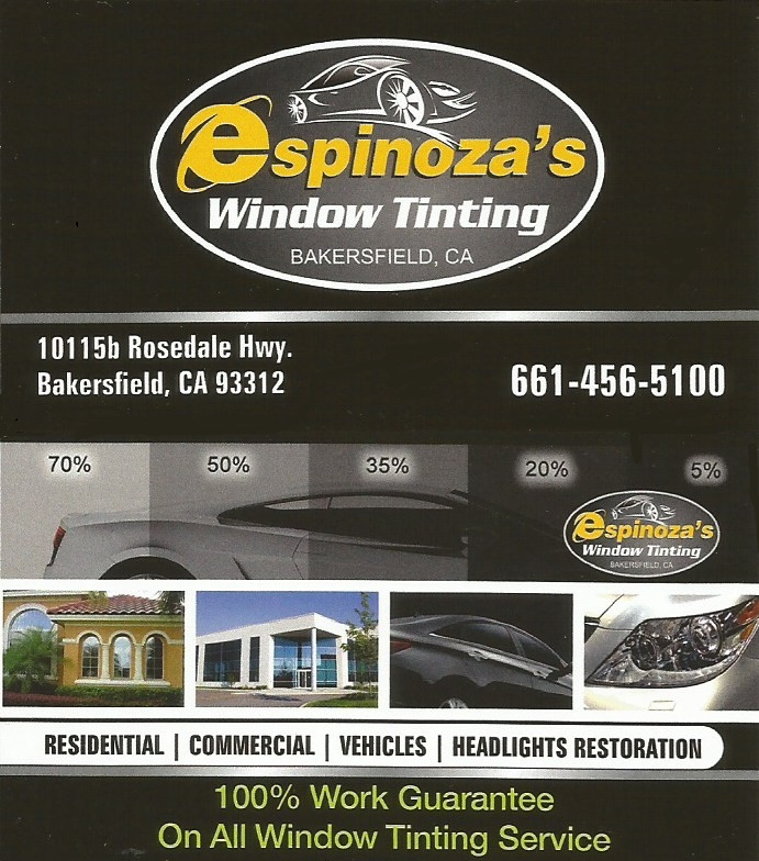 Espinoza's Window Tinting