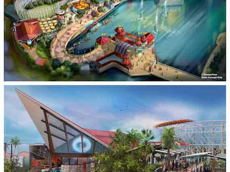 New Pixar Experiences Coming to Disney California Adventure Park Summer 2018