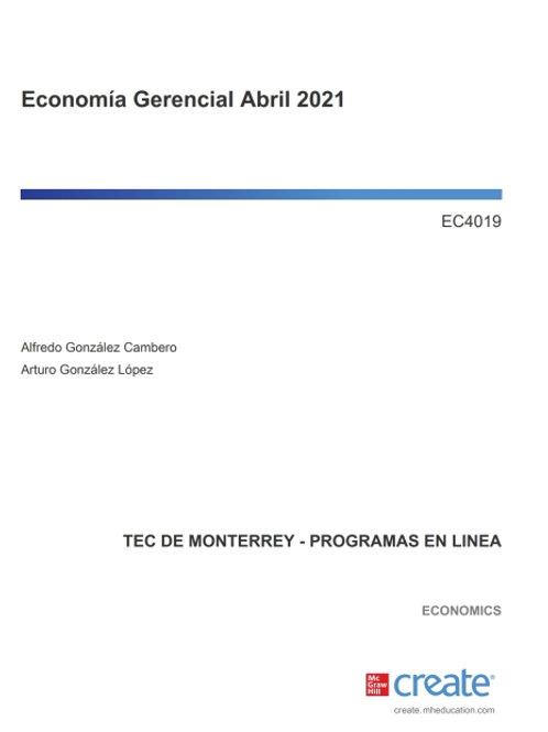 Economía Gerencial Abril 2021