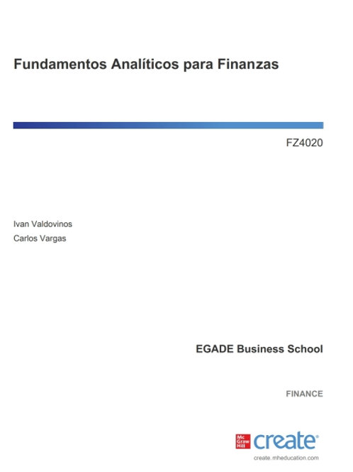 Fundamentos Analíticos para Finanzas