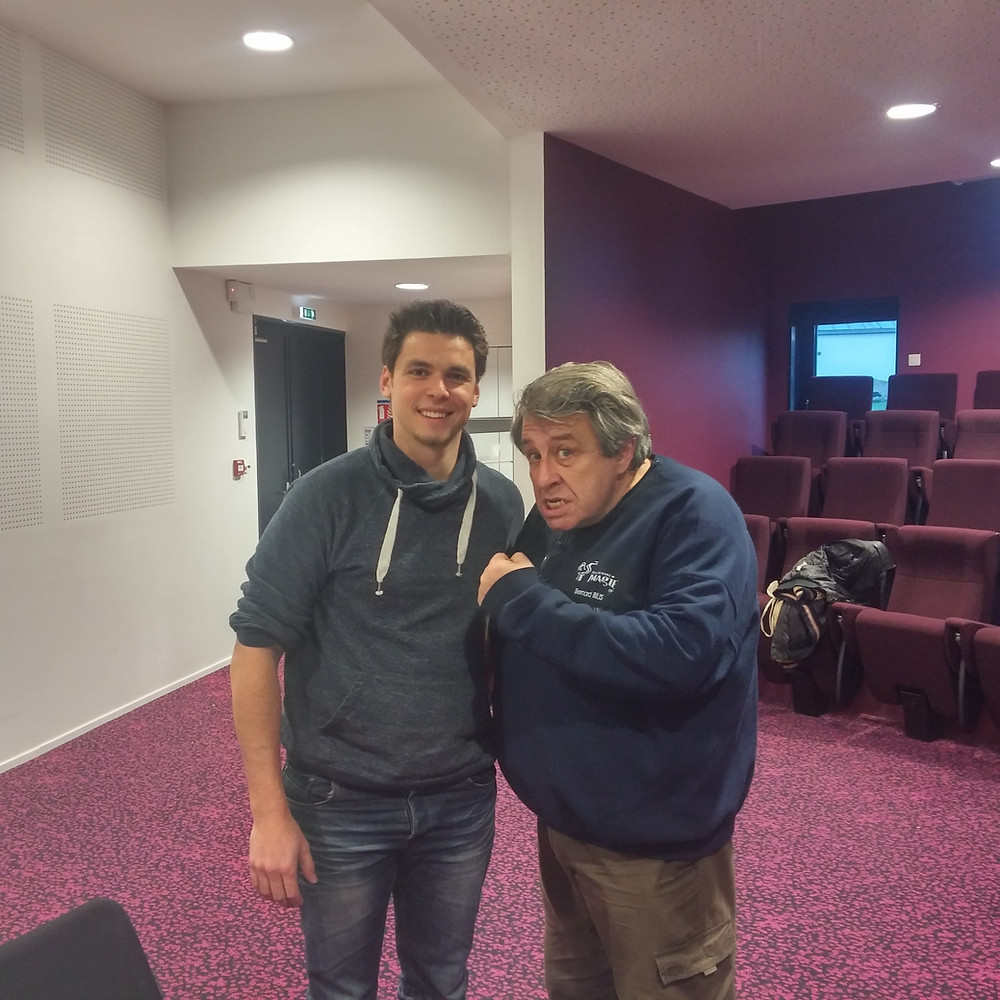 Magicien à Brest et Bernard Bilis