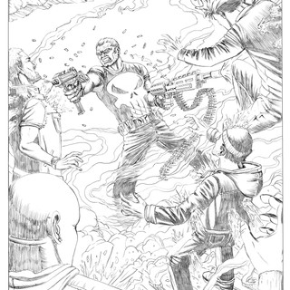 The Punisher Pencils 3